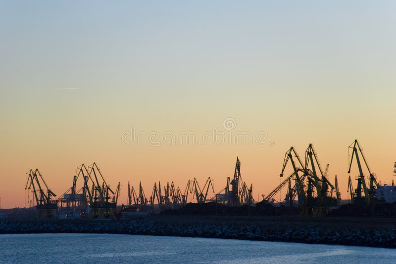 Harbour royalty free stock photo