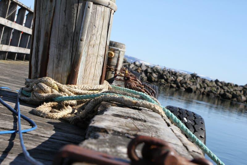 Harbour in Bolungarvik stock photo