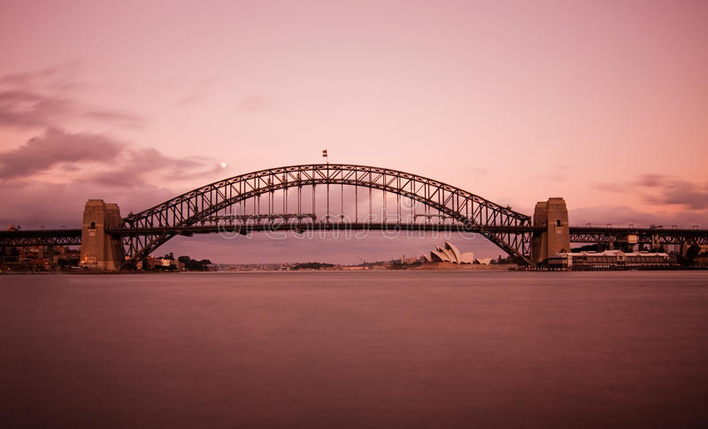 Download Harbour Bridge stock image. Image of city, scene, blue - 9386097