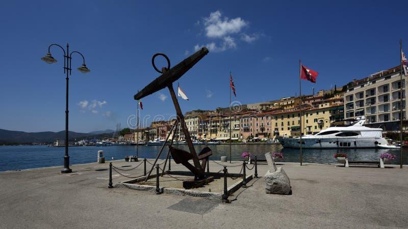 Portoferaio, Tuscany, Elba, Italy stock photography