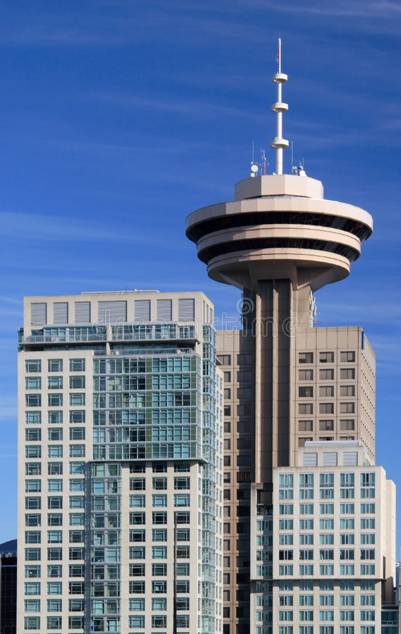 Download Harbour Centre stock photo. Image of british, lookout, rotating - 508096
