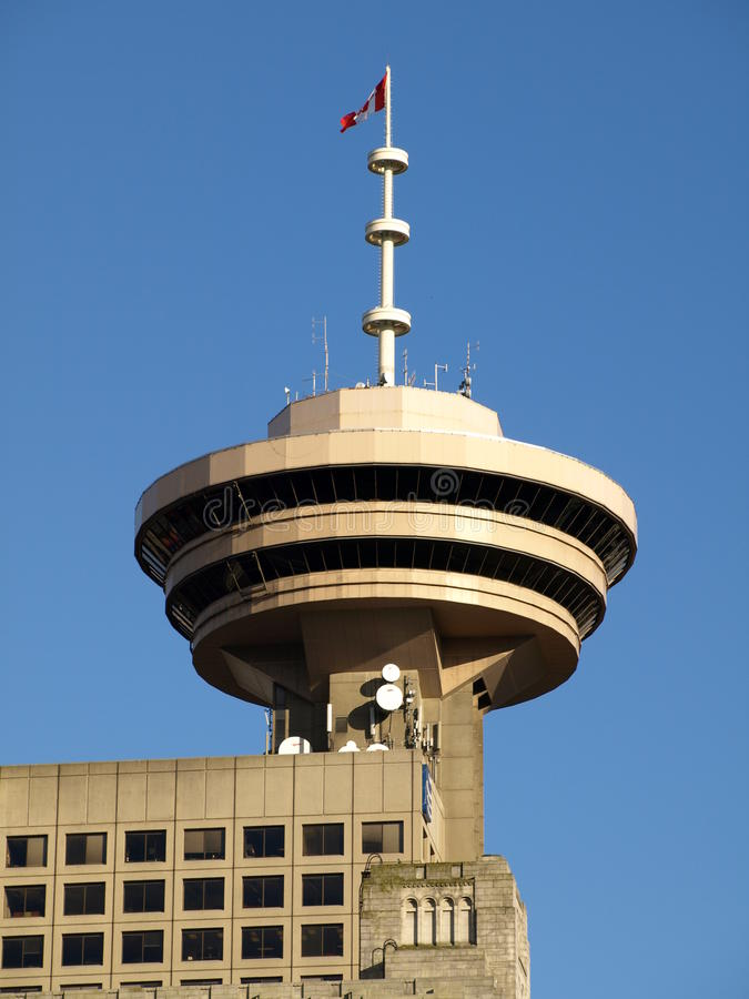 Download Harbour Centre Tower Vancouver Stock Image - Image of chrome, finance: 19260649