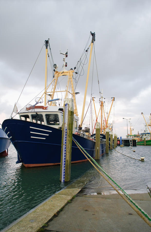 Harbour flood royalty free stock photos