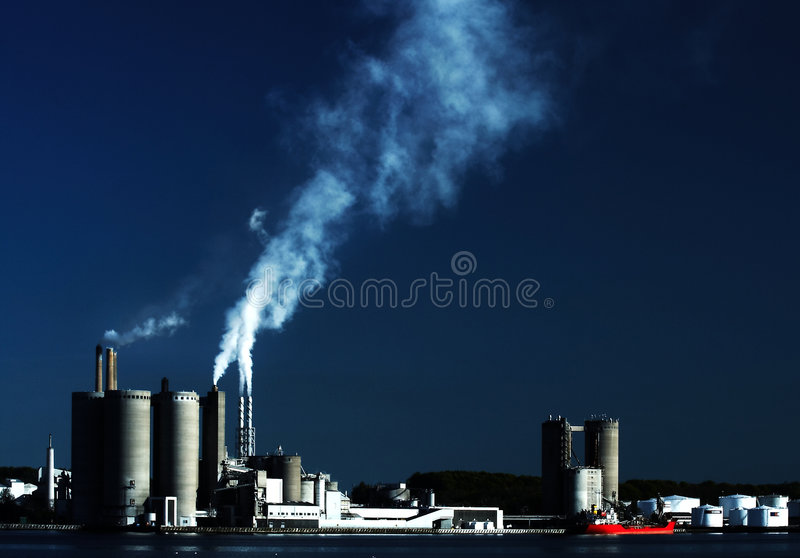 Harbour industry royalty free stock image
