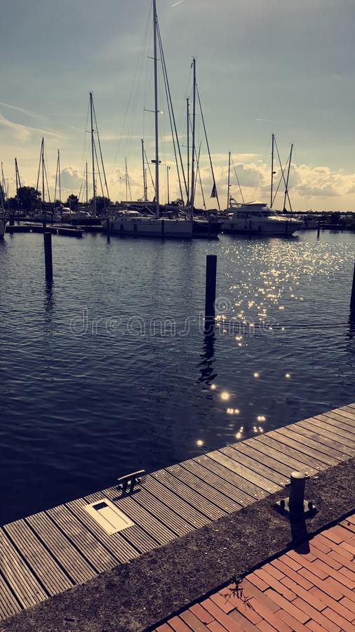 Harbour Netherlands royalty free stock images
