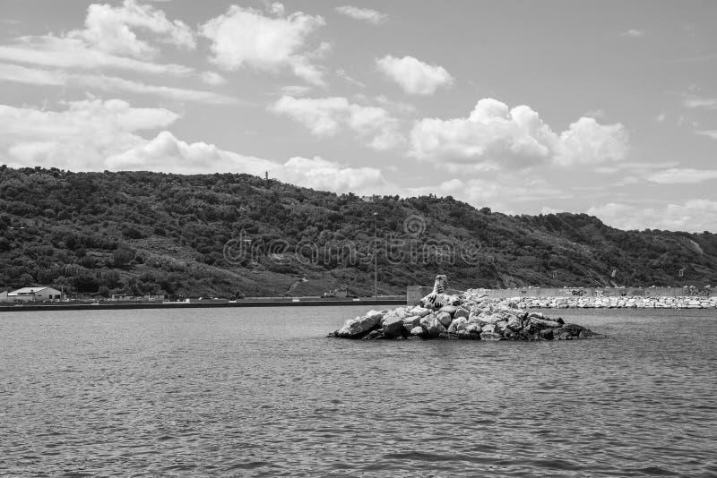 Harbour of Rimini royalty free stock image