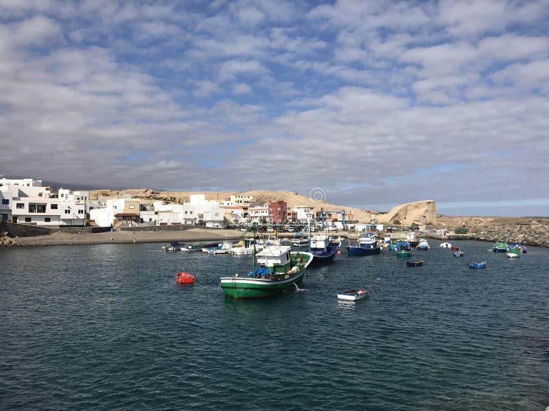 The harbour in San Miguel de Tajao. Tenerife stock photos