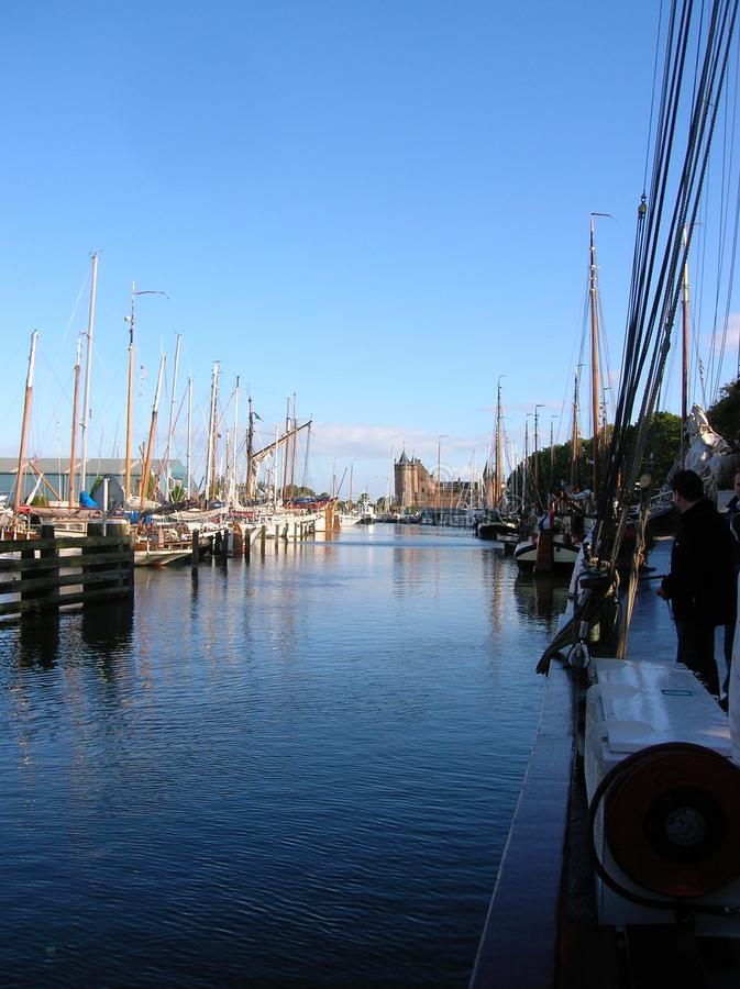 Harbour Scene royalty free stock photography