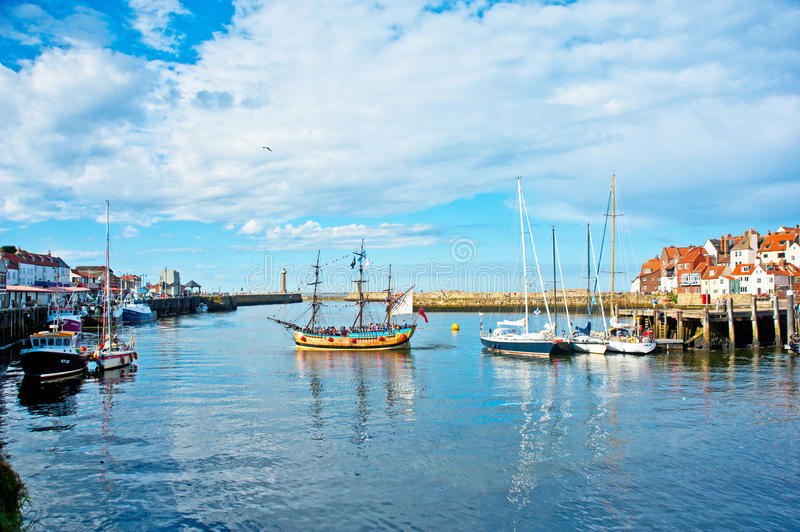 The Harbour At Whitby Editorial Photo
