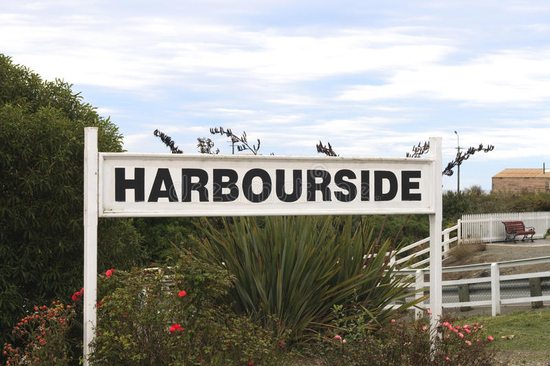 Harbourside stock photo