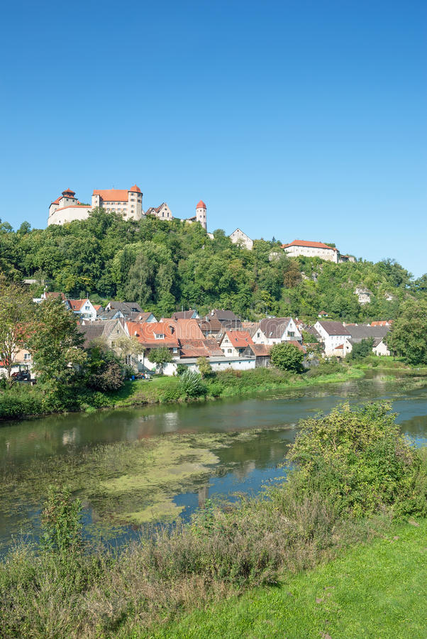 Harburg,romantic Route,Bavaria,Germany royalty free stock photos