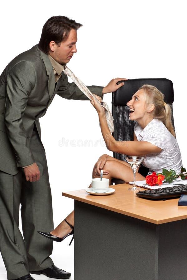 Harcèlement sexuel photographie stock libre de droits