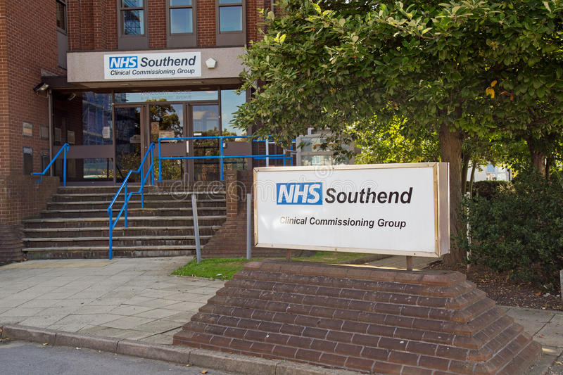 08/22/2017, Harcourt Avenue, Southend On Sea, Essex, England, Southend Clinical Commissioning Group building. 08/22/2017, Harcourt Avenue, Southend On Sea, Essex royalty free stock images