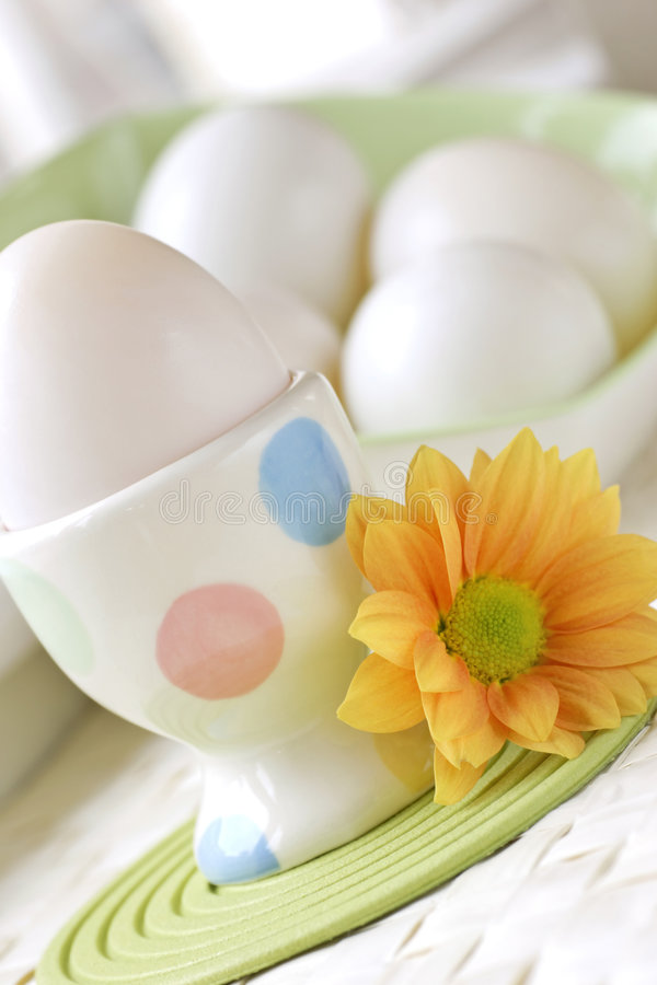 Hard boiled egg royalty free stock photos