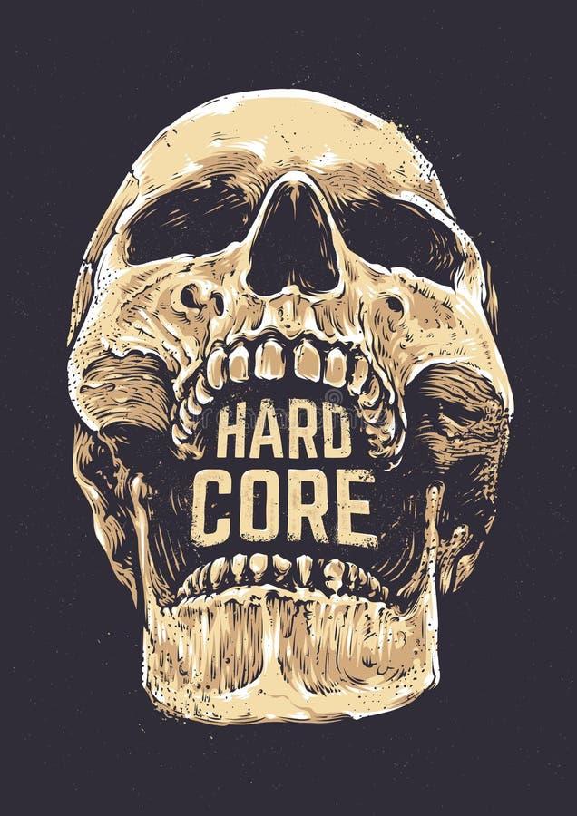 Free Hard Core Skull Stock Photography - 84634192