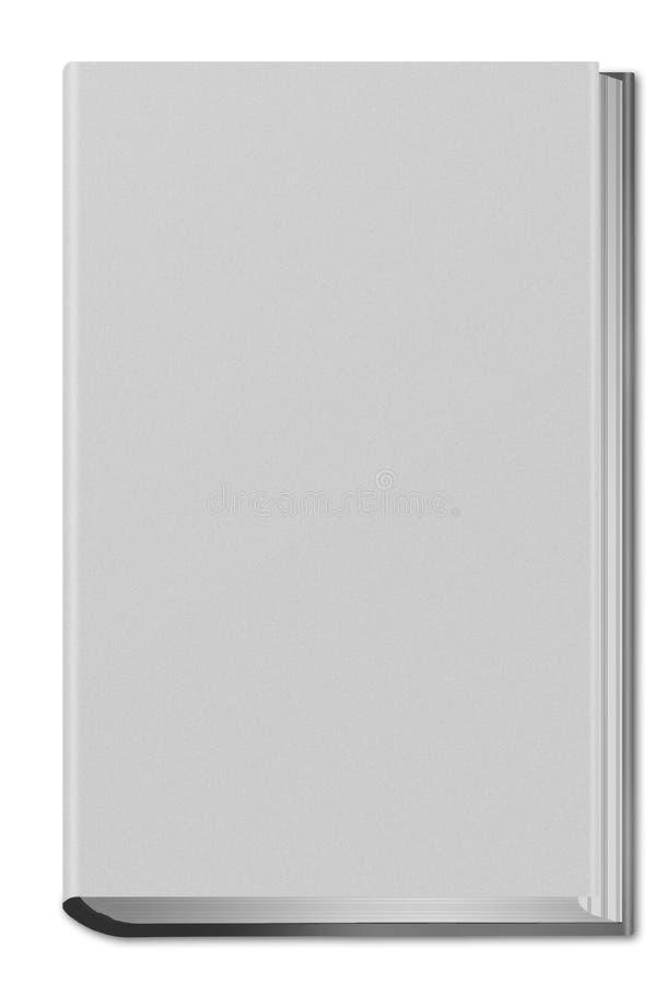 Hard dekkings wit boek royalty-vrije illustratie