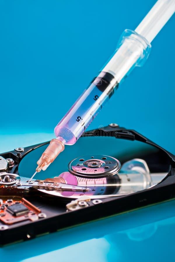 Download Hard disc repairing stock photo. Image of disc, hard - 18647618