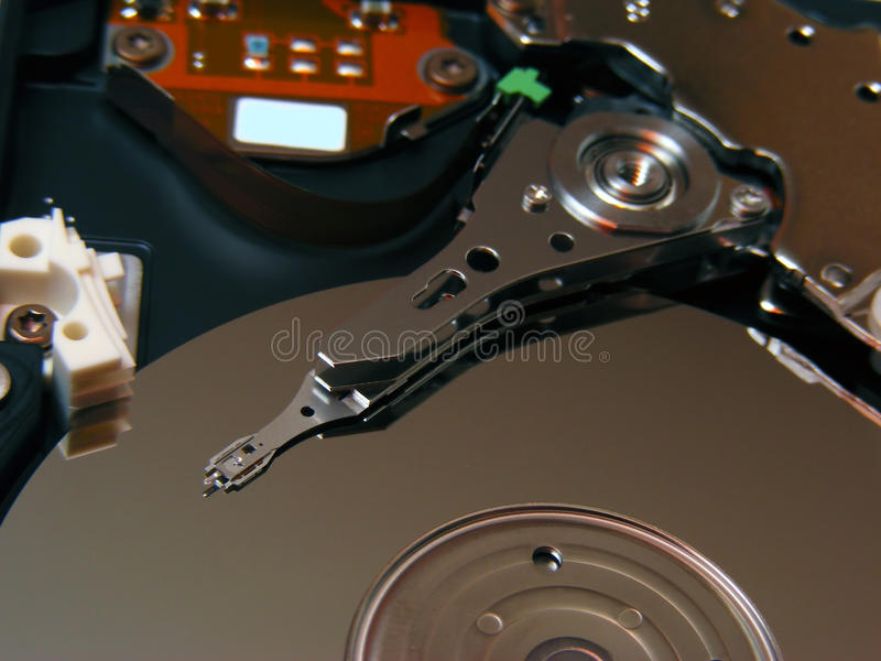 Download Hard disk stock image. Image of drive, electrical, macro - 17670551
