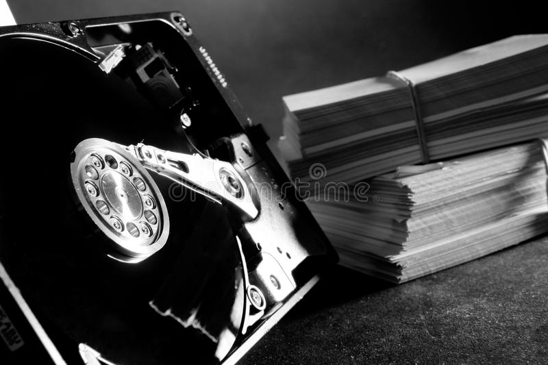 Download Hard disk stock image. Image of hard, disc, technology - 21630193