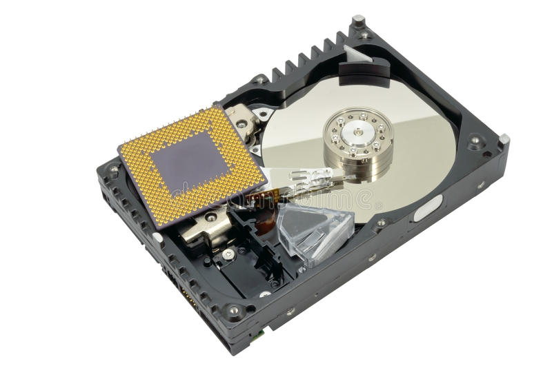 Download Hard disk stock image. Image of data, isolated, clean - 27339119