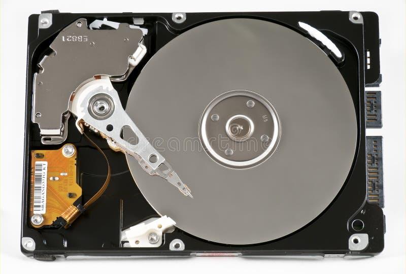 Hard Disk Drive. Opened hard disk drive 2.5 sata stock photos