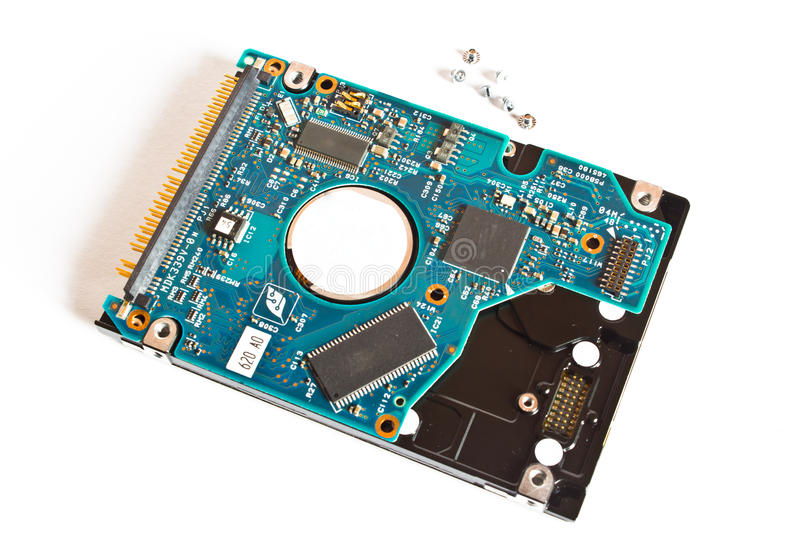 Download Hard disk drive stock photo. Image of controller, drive - 26455572