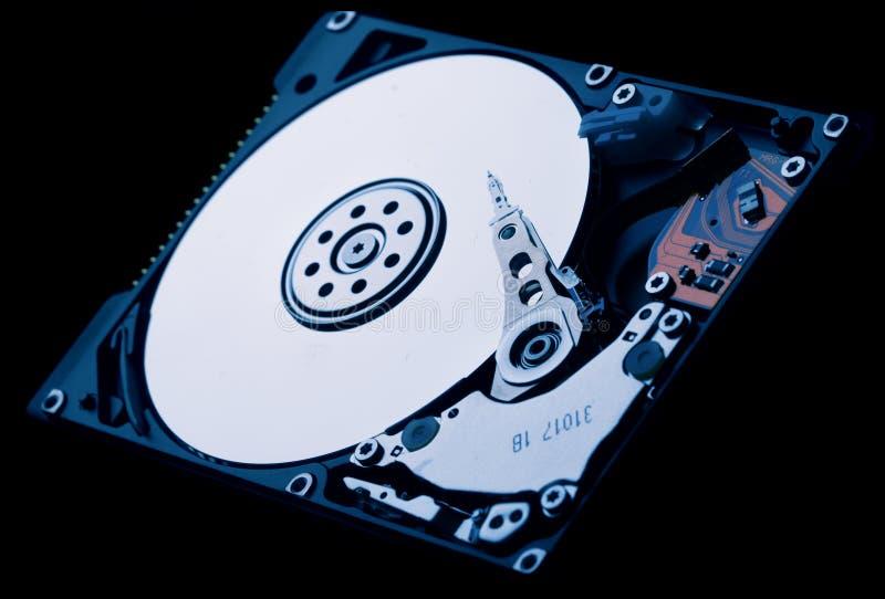 Hard Disk Drive. Internals and design light stock image