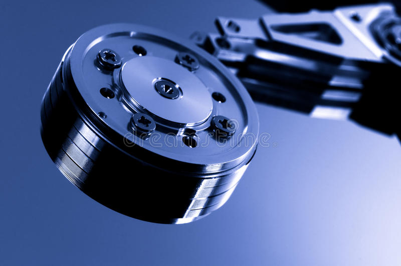 Hard disk royalty free stock photography