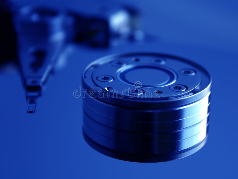 Download Hard Disk Drive II stock image. Image of circle, discs, head - 7869