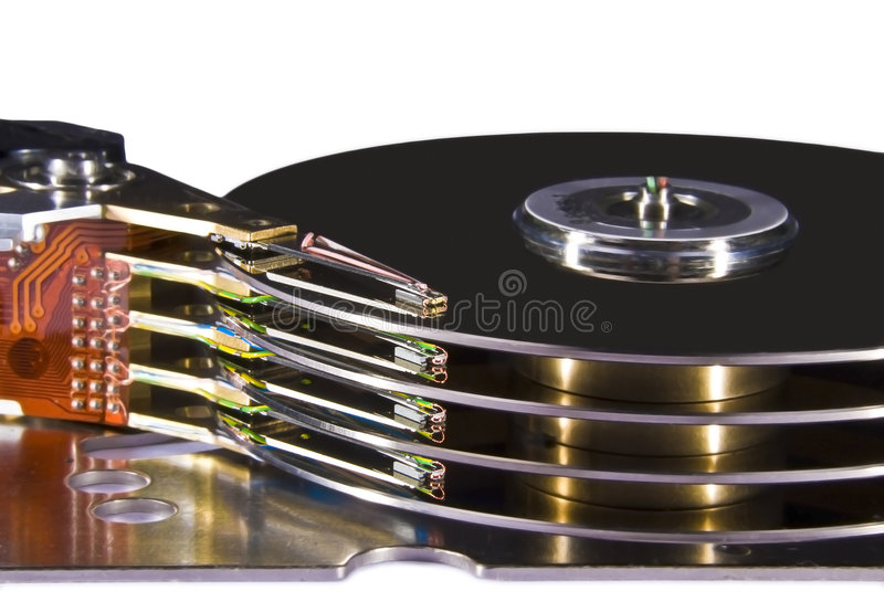 Download Hard Disk Drive - Magnetic Heads Royalty Free Stock Photo - Image: 5267595
