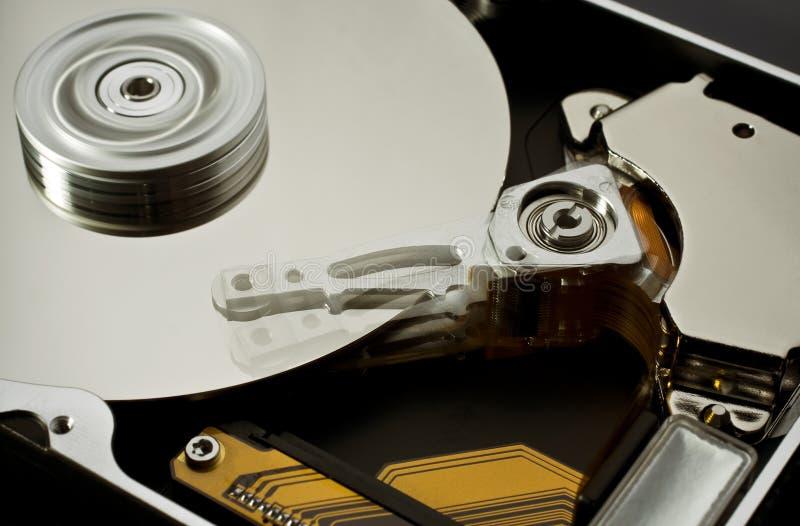 Hard disk drive zero-five (moving head) royalty free stock photo