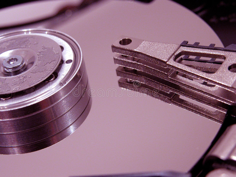 Download Hard disk opened stock photo. Image of sepia, disks, disc - 630