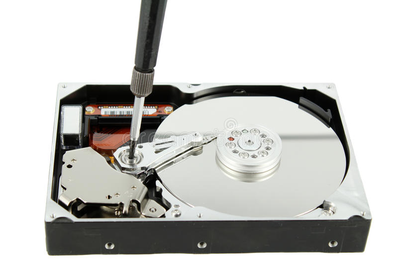 Download Hard disk repair stock photo. Image of disk, disc, screwdriver - 28710374