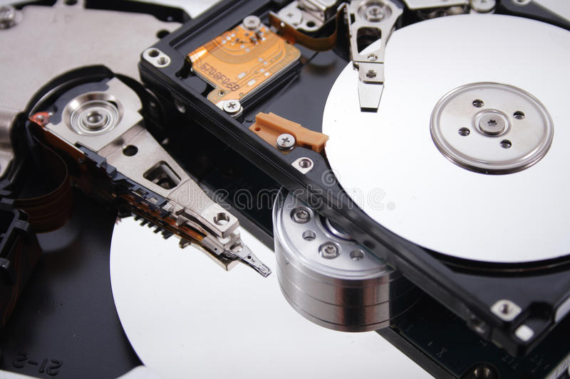 Hard drive. Hard disc as very nice data background royalty free stock images