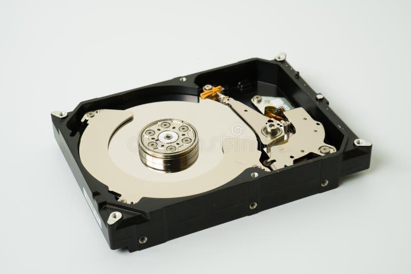 Hard drive computer storage disk technology data backup hardware royalty free stock photos