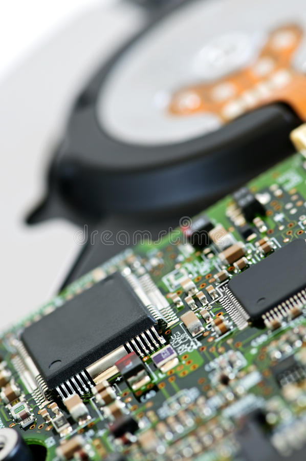 Download Hard drive detail stock image. Image of computer, electronics - 9480727
