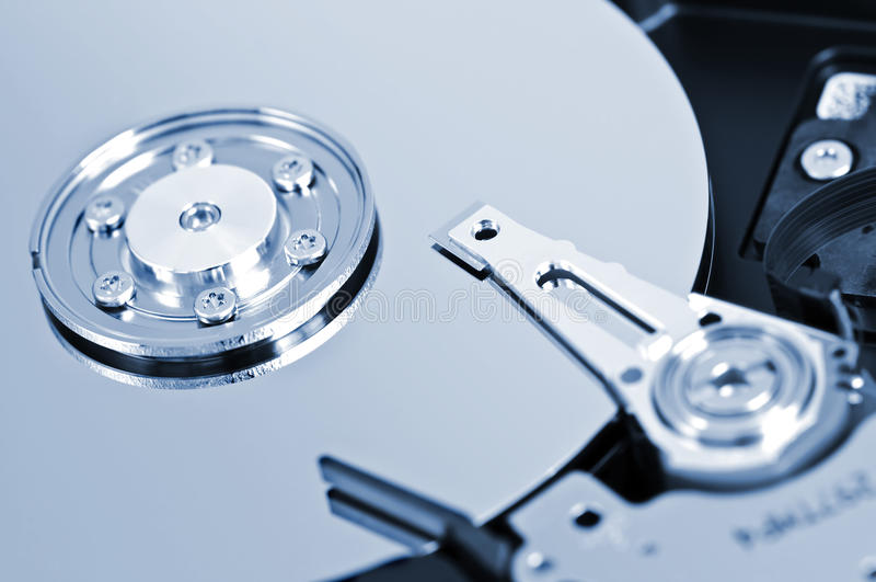 Download Hard drive detail stock image. Image of macro, internal - 9587561