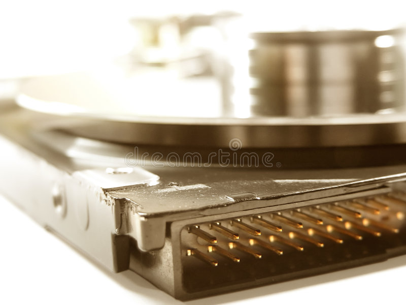 Hard Drive Details Stock Photography