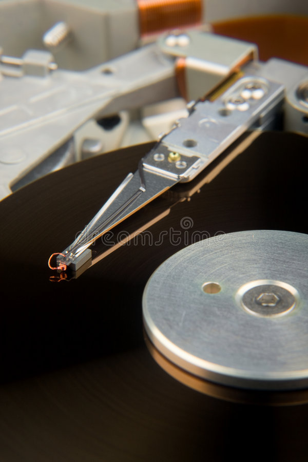 Hard Drive Exposed royalty free stock photography