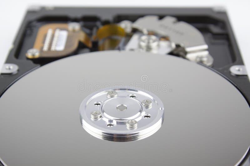 Hard drive internal components. Image royalty free stock photos
