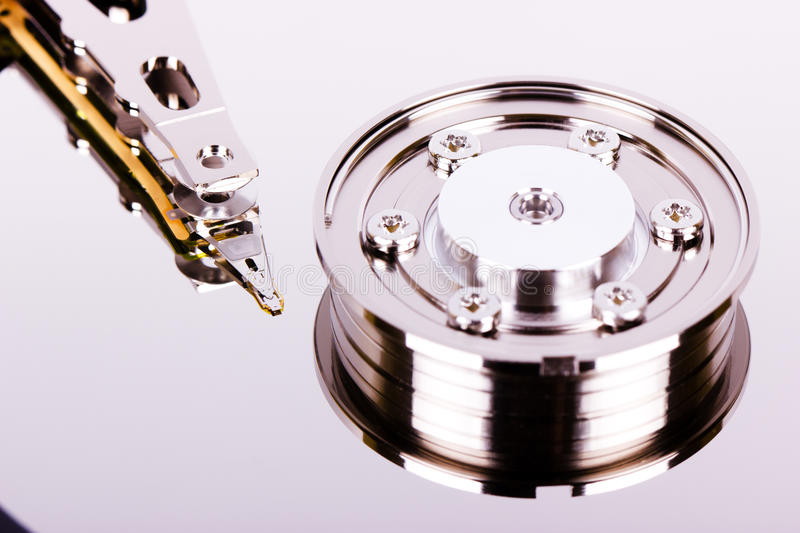 Download Hard drive macro stock photo. Image of single, backgrounds - 34594420