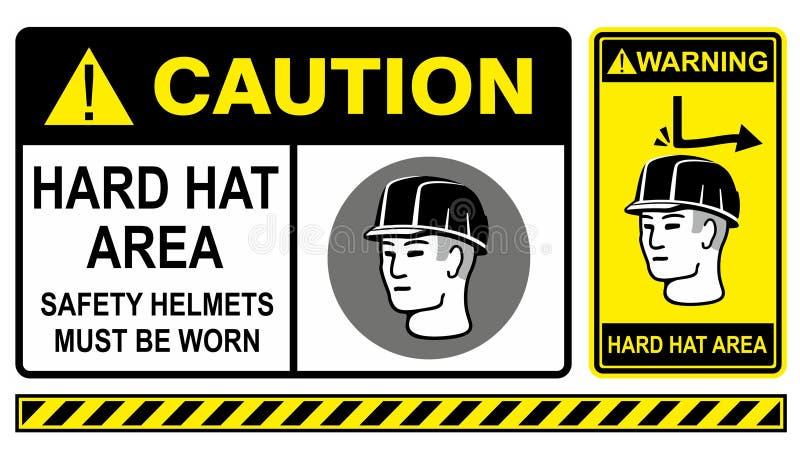 Download Hard hat stock vector. Image of label, headwear, area - 20027097