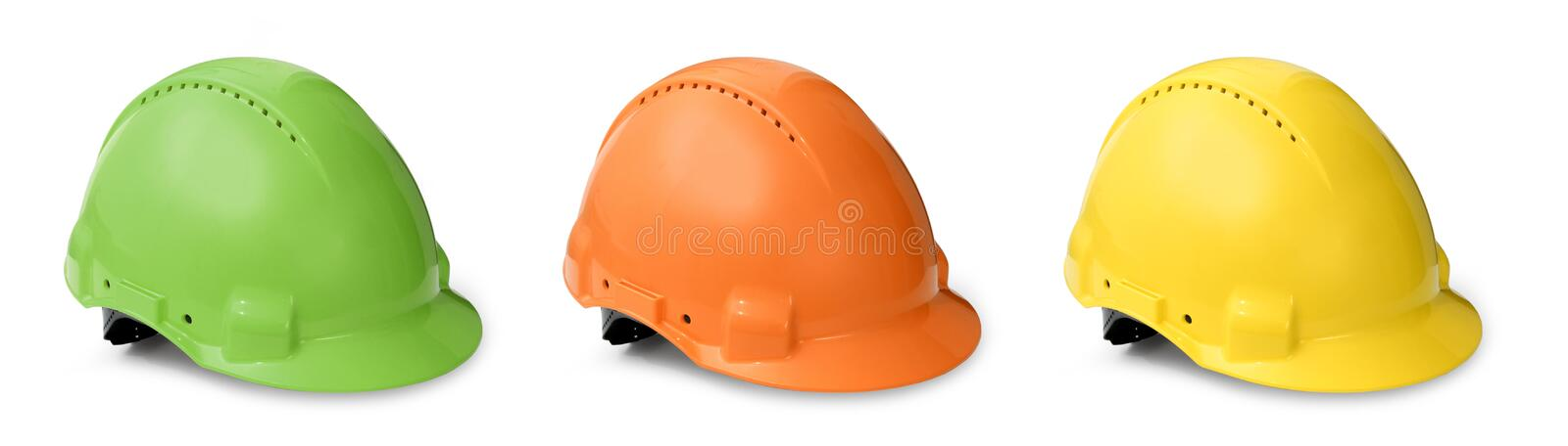 Download Hard Hat Color Collection Royalty Free Stock Photography - Image: 11968347