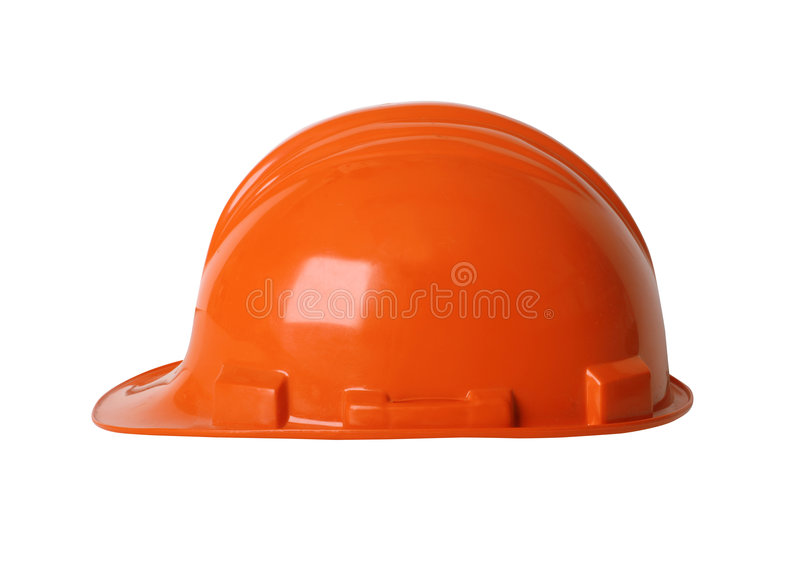 Hard hat with path royalty free stock images