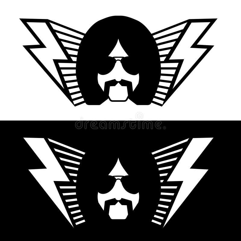 hard rock royalty ilustracja