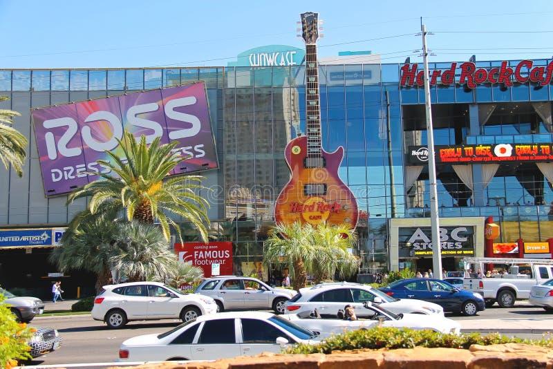 Hard Rock Cafe à Las Vegas images libres de droits