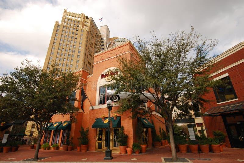 Hard Rock Cafe à San Antonio, TX images stock