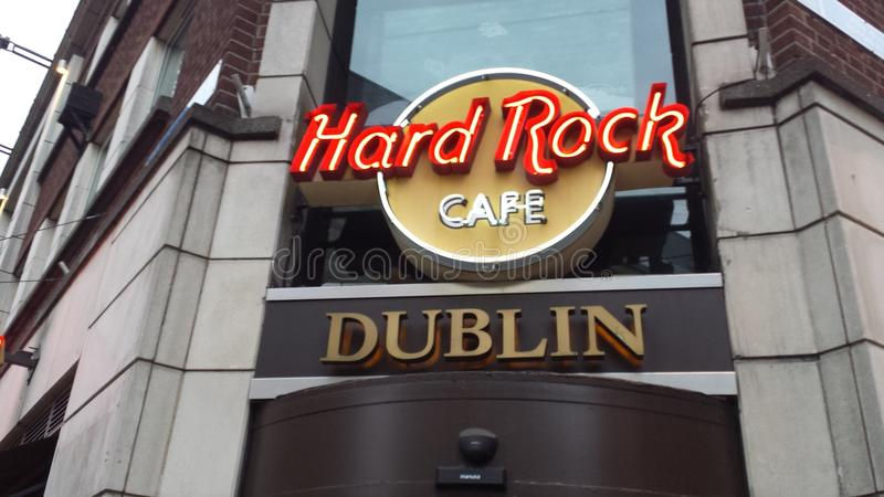 Hard Rock Cafe images libres de droits