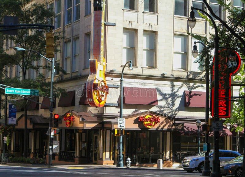 Hard Rock Cafe, Atlanta, dziąsła obraz stock
