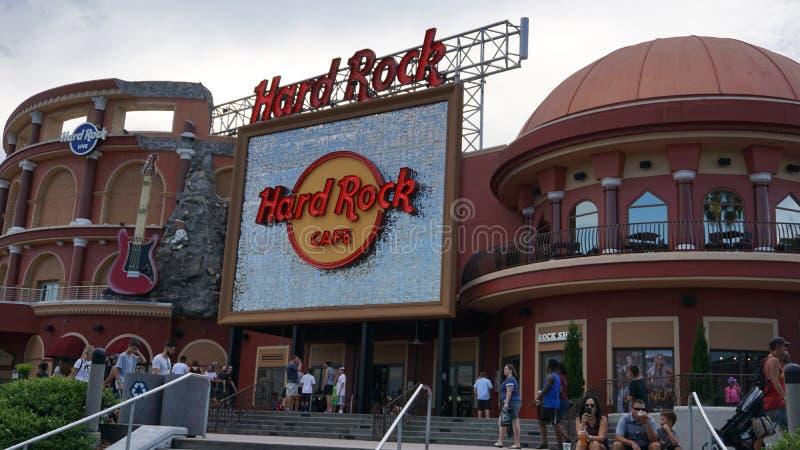Orlando, Florida, USA - September 15th, 2018 - Universal Studios Halloween Horror Nights royalty free stock image